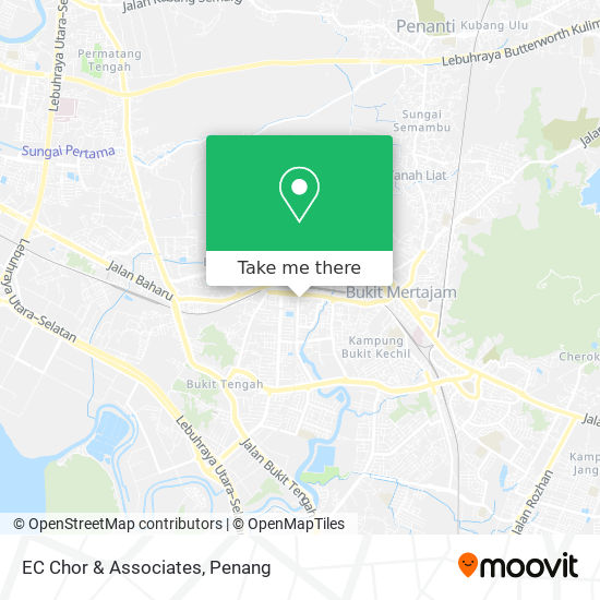 EC Chor & Associates地图