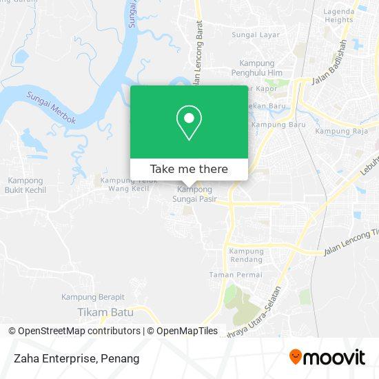 Zaha Enterprise地图