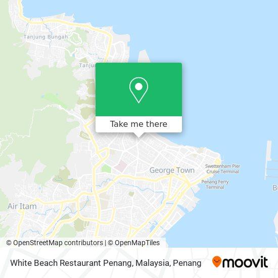Peta White Beach Restaurant Penang, Malaysia