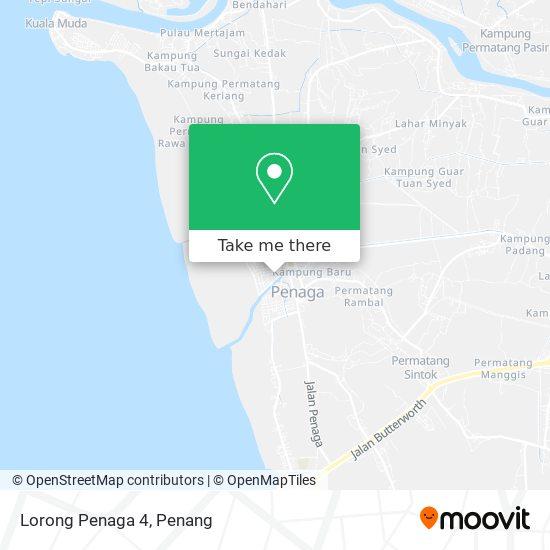 Peta Lorong Penaga 4