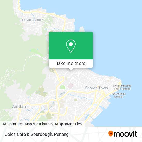 Joies Cafe & Sourdough地图
