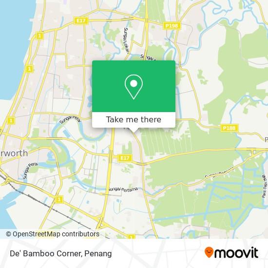 De' Bamboo Corner地图