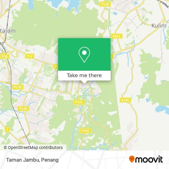 Taman Jambu map