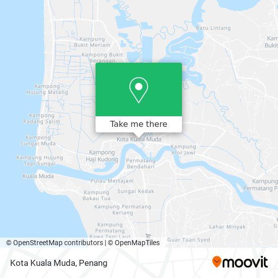 Kota Kuala Muda map
