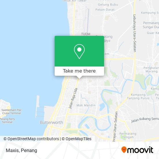 Maxis Service Centre, Jalan Ong Yi How map