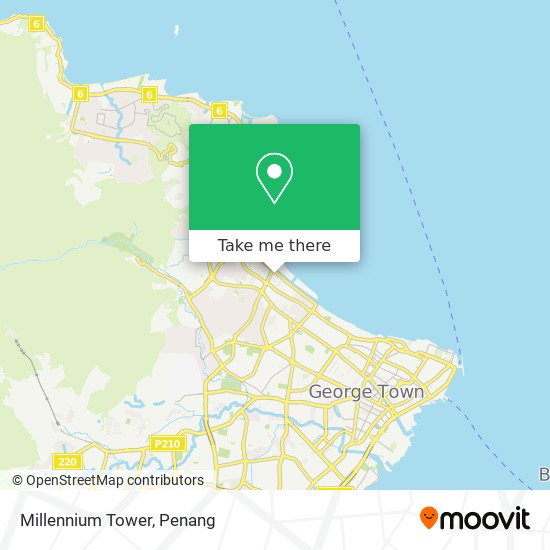Millennium Tower map