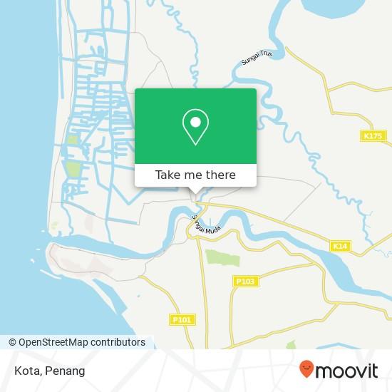 Kota map