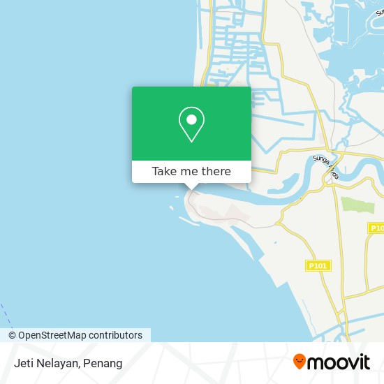Peta Jeti Nelayan