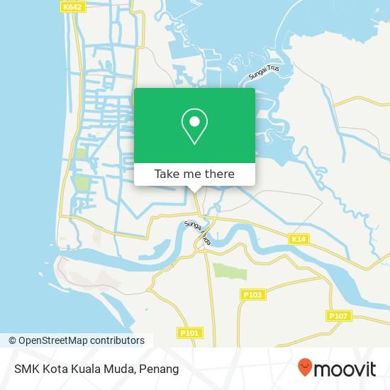 SMK Kota Kuala Muda map