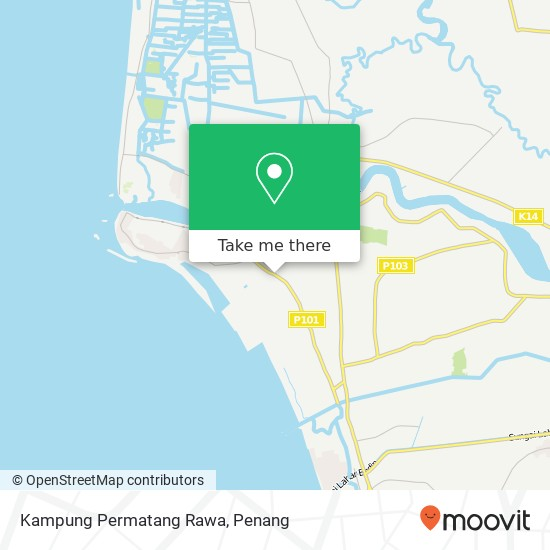 Kampung Permatang Rawa map