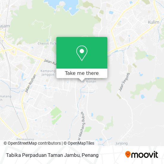 Tabika Perpaduan Taman Jambu map
