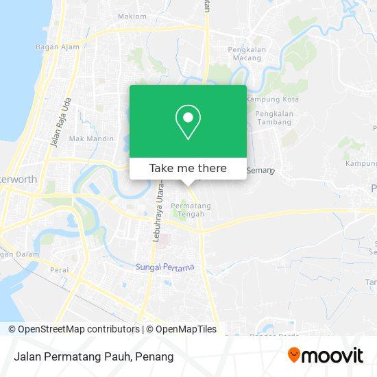 Jalan Permatang Pauh地图