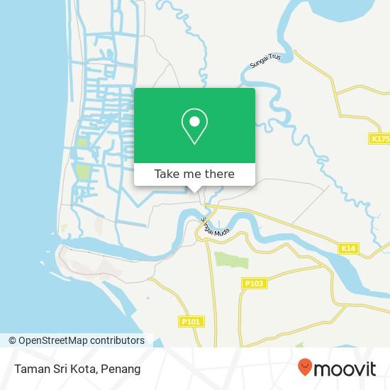 Taman Sri Kota map