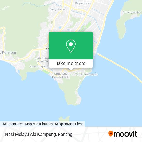 Nasi Melayu Ala Kampung map