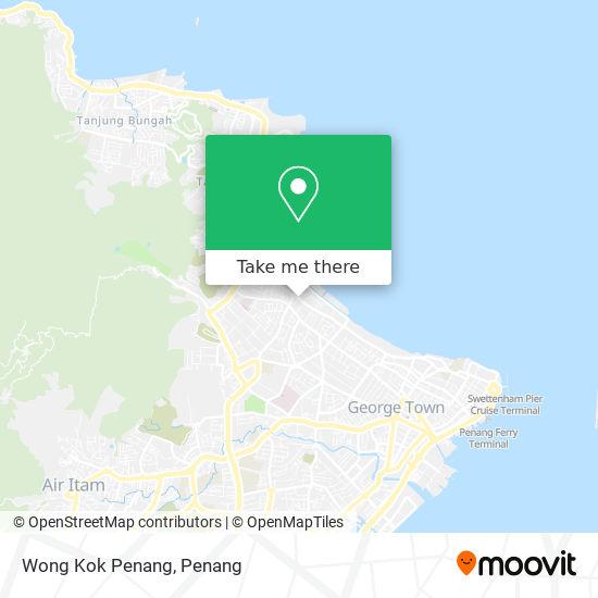 Wong Kok Penang map