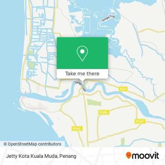 Jetty Kota Kuala Muda map
