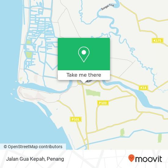Jalan Gua Kepah map