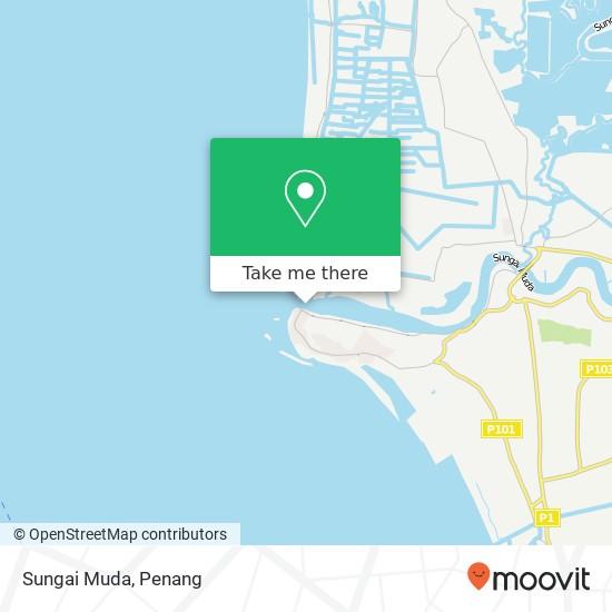 Peta Sungai Muda