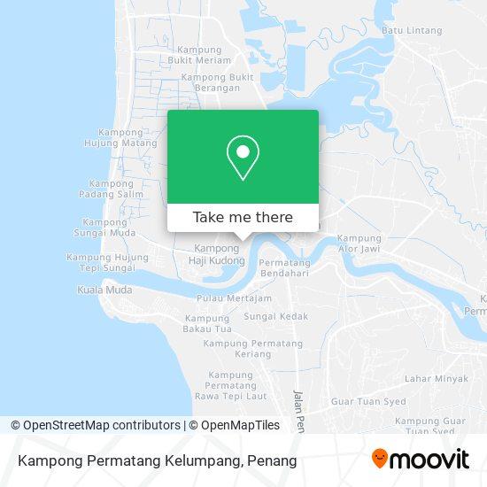 Peta Kampong Permatang Kelumpang