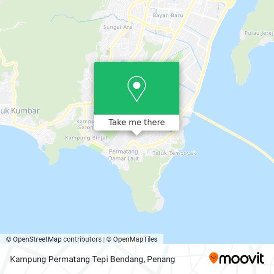 Kampung Permatang Tepi Bendang map