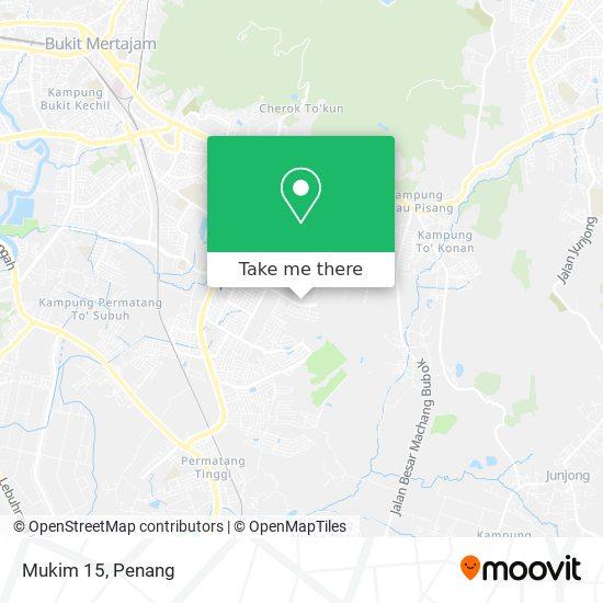 Mukim 15 map
