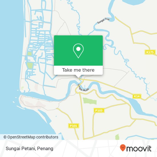 Sungai Petani map