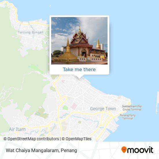 Wat Chaiya Mangalaram map