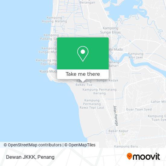 Dewan JKKK地图