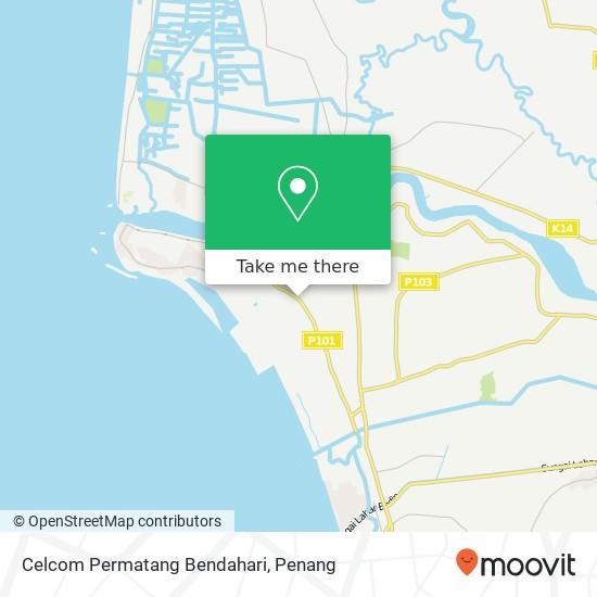 Celcom Permatang Bendahari map
