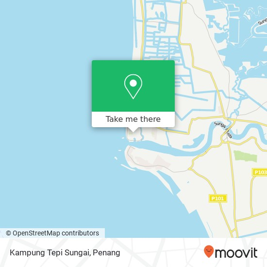 Kampung Tepi Sungai地图