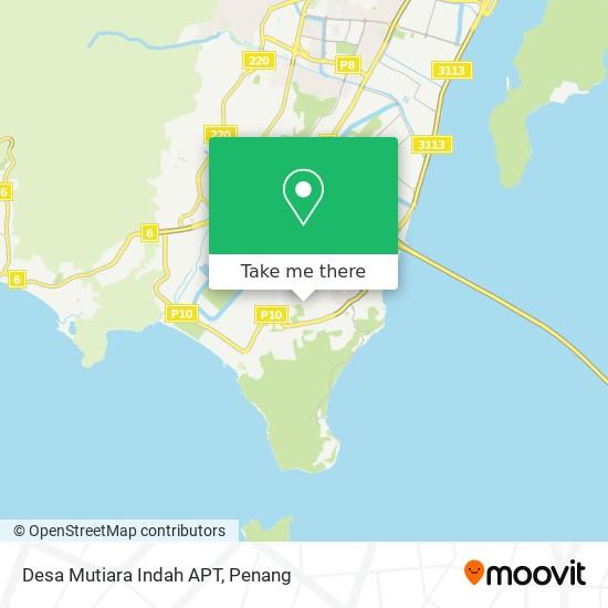 Desa Mutiara Indah APT map