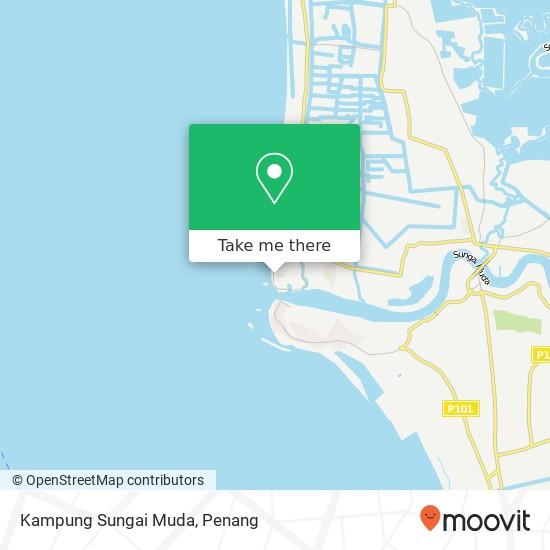 Kampung Sungai Muda地图