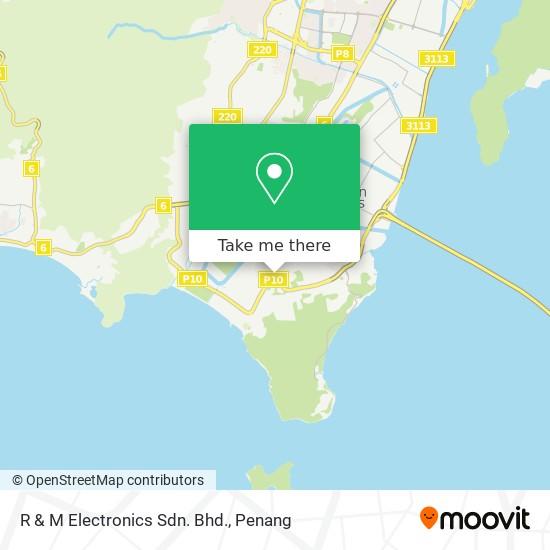 R & M Electronics Sdn. Bhd. map
