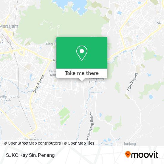 Peta SJKC Kay Sin