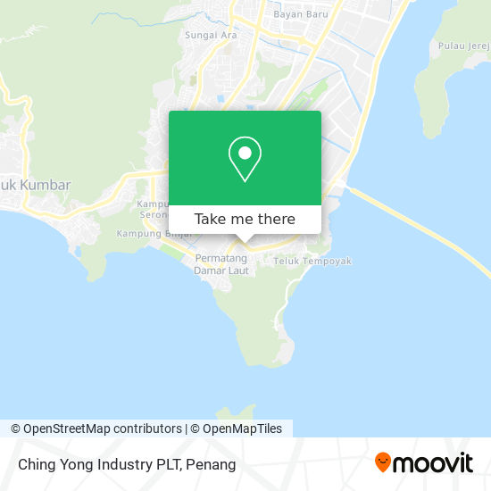 Ching Yong Industry PLT map