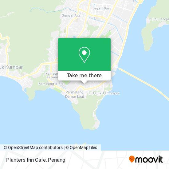 Planters Inn Cafe map