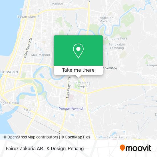 Fairuz Zakaria ART & Design地图