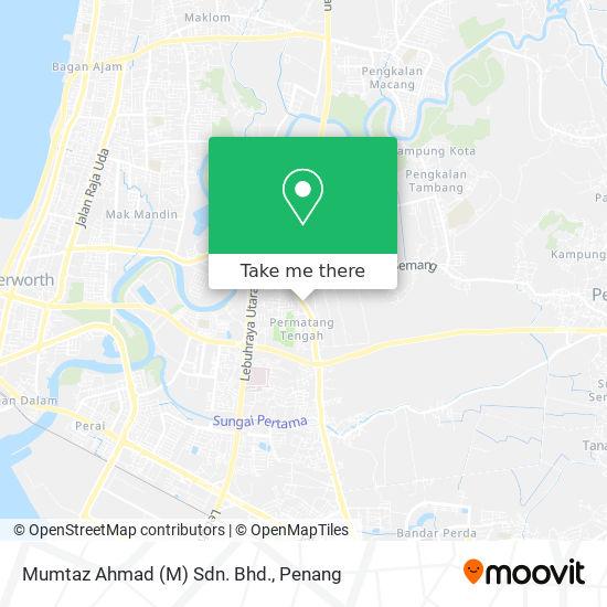 Mumtaz Ahmad (M) Sdn. Bhd.地图