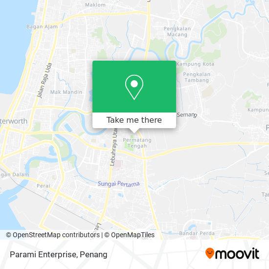Parami Enterprise地图