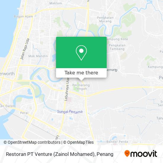 Restoran PT Venture (Zainol Mohamed)地图