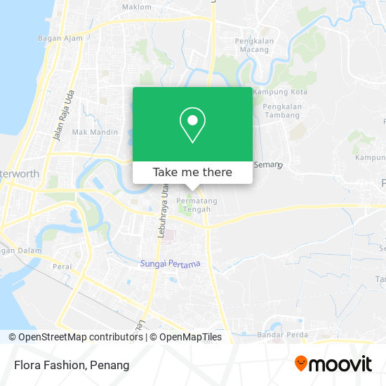 Flora Fashion地图