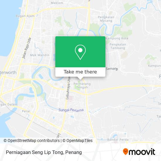 Perniagaan Seng Lip Tong地图