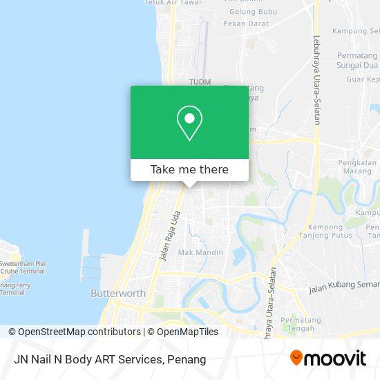 JN Nail N Body ART Services map