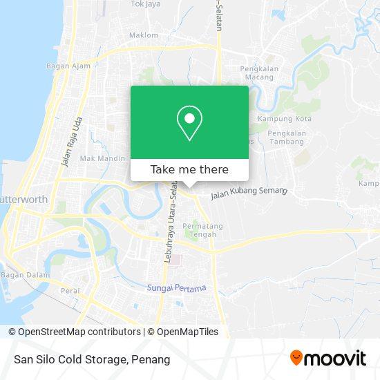 San Silo Cold Storage map