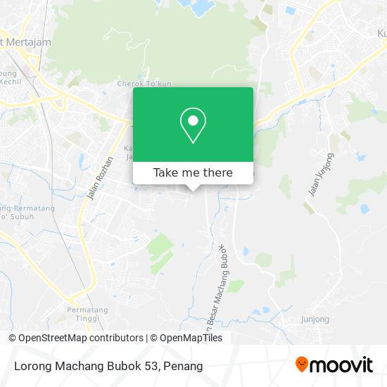 Lorong Machang Bubok 53 map