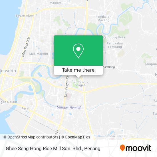 Ghee Seng Hong Rice Mill Sdn. Bhd.地图