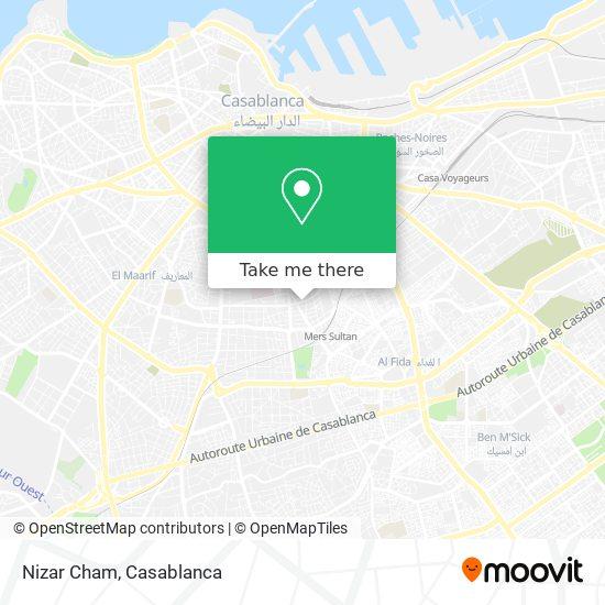 Nizar Cham map