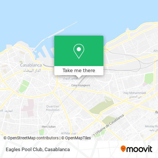 Eagles Pool Club map