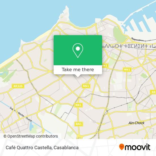 Café Quattro Castella map