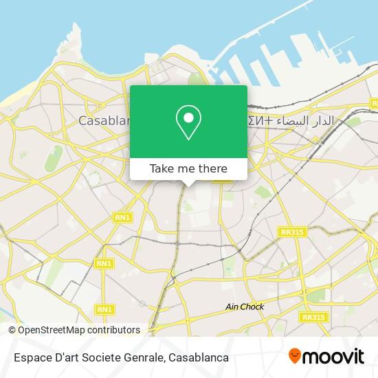 Espace D'art Societe Genrale map